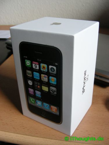 Packung iPhone 3G